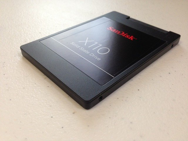 SSDのパーツ