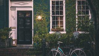 ヴィンテージハウスと自転車